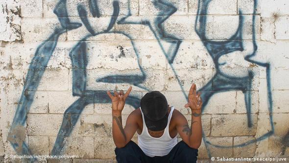 Flash Galerie Bandenmitglied Guatemala