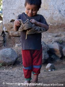 Strassenkind Guatemala