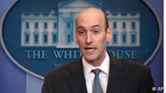 Gregory Jaczko spricht im Presseraum des Weißen Hauses (Foto: ap)