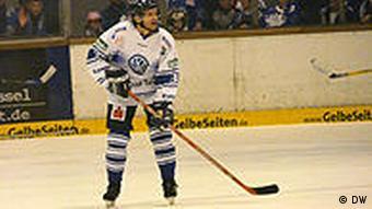 Kassel Huskies forward Shane Tarves