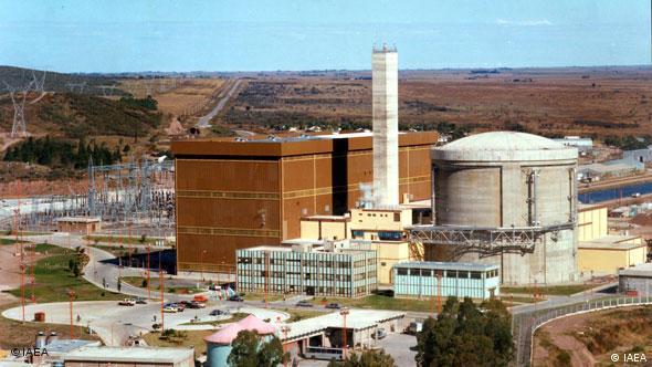 Foto de archivo de la central argentina Embalse, recién renovada en un parón de tres años, para extender la vida útil de su reactor por otros 30 años.