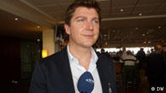 Торстен Амарель, глава немецкой делегации
