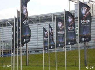 Место проведения Евровидения-2011 в Дюссельдорфе