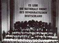 Sessão de constituição da Câmara Popular da Alemanha Oriental em 1949