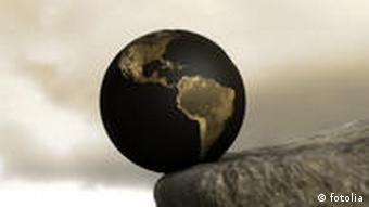Erde am Abgrund Symbolbild