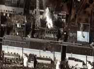 Δορυφορική λήψη του αντιδραστήρα Φουκουσίμα Ι