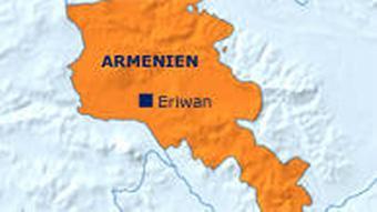 Landkarte Armeniens (Grafik: DW)
