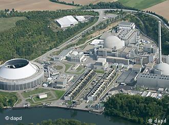 Luftaufnahme vom Kernkraftwerk Neckarwestheim (Foto: dapd)
