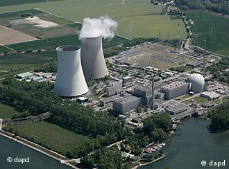 Nuclear power station at Philippsburg in Karlsruhe