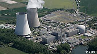 Das Atomkraftwerk Philippsburg im Landkreis Karlsruhe (Foto: dapd)