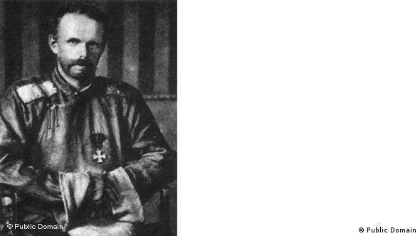 На допросе в штабе Дальневосточной дивизии. Сентябрь 1921 г.