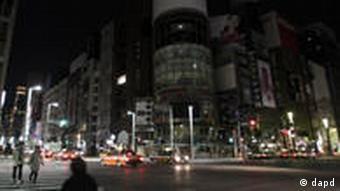 Japan Erdbeben Tokio Stromrationierung