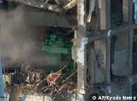 ری ایکٹر کی تباہ حال عمارت