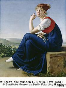 Gottlieb Schick, Porträt der Heinrike Dannecker, 1802 (Foto: Staatliche Museen zu Berlin, Jörg P. Anders)