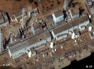 the Fukushima Dai-ichi nuclear plant on Friday, March 19