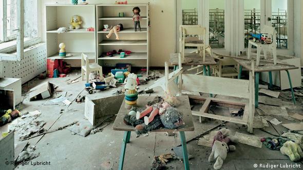 Der Kindergarten in Pripjat(Foto: Rüdiger Lubricht)