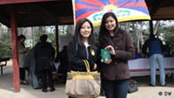 Tibetan diaspora flocks to polls mid March, 2011, as thousands cast their vote for Tibetan PM