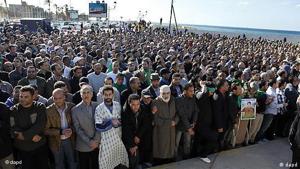 Crowd in Tripoli