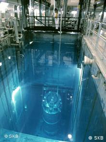 Резервуар с затопленными ядерными отходами