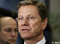Ministri i jashtëm gjerman Guido Westerwelle duke folur para takimit të ministrave të jashtëm të BE-së në Bruksel.