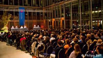 Немецкие любители литературы на фестивале Litcologne