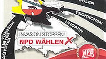 NPD Wahlflyer Sachsen-Anhalt