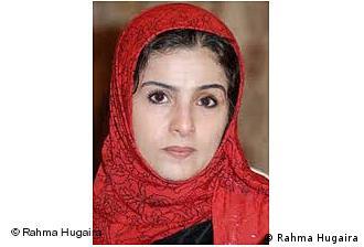 Die jemenitische Aktivistin und Journalistin Rahma Hugaira