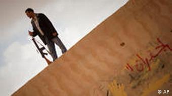Libyen Rebellen in Benghazi