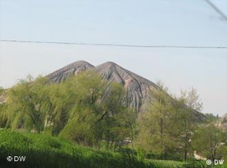 Schachthalden der Region Donezk in der Ukraine. Foto: DW-Korrespondent Danylo Bilyk, Kiew, April 2011