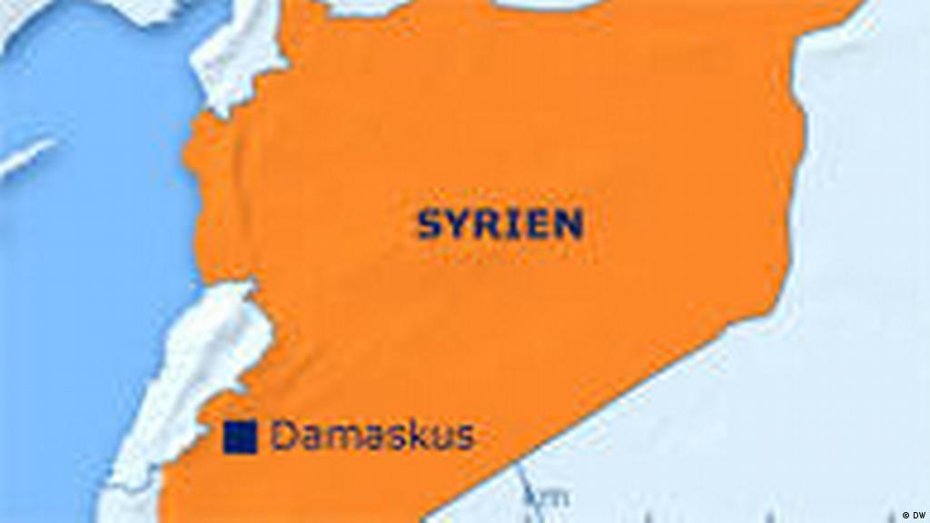 wie spät ist es in syrien
