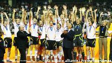 Deutschland Fußball Weltmeister 2007 Frauen Flash-Galerie