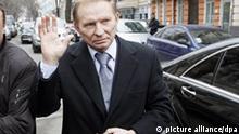 Ehemaliger Präsident Leonid Kuchma Ukraine