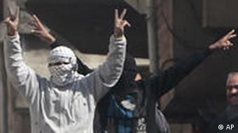 معترصان سوری در شهر درعا