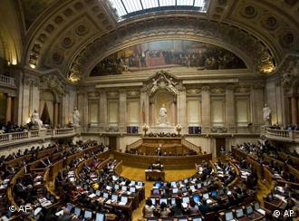 A session of Portuguese parliament