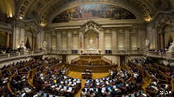 Portugiesisches Parlament (Foto: AP)