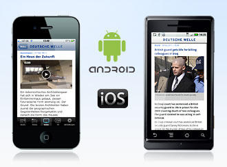 mobile app android iphone