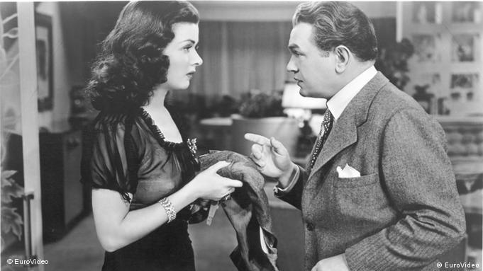 Szene aus dem FilmGefährliche Begegnung -Edward G. Robinson und Joan Bennett (Foto: EuroVideo)