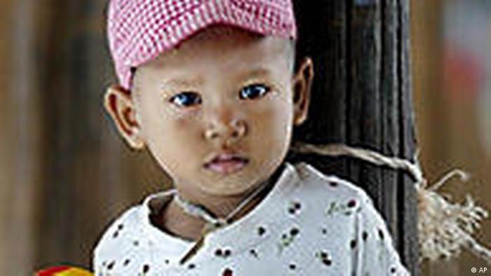 The number of Cambodia's orphans has doubled in the last five years