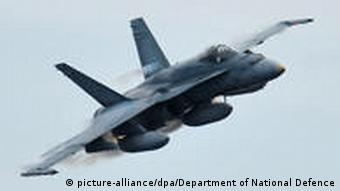 Kanadisches Kampfflugzeug (Foto: dpa)