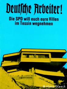 Klaus Staeck's early political poster with its appeal to German Workers (Klaus Staeck)