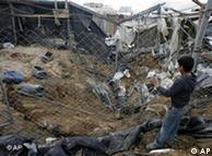 حمله تلافیجویانه اسراییل به نوار غزه