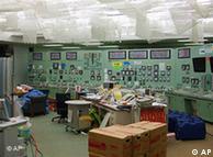 福岛核电站监控室恢复照明