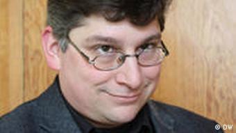 Philosophielehrer Patrick Baum (Foto: DW)