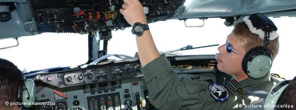 A NATO reconnaissance flight