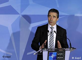 Belgien NATO Generalsekretär Anders Fogh Rasmussen in Brüssel