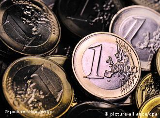 Монеты номиналом один евро