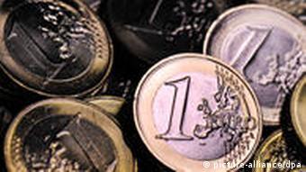 Symbolbild Euro Euromünzen