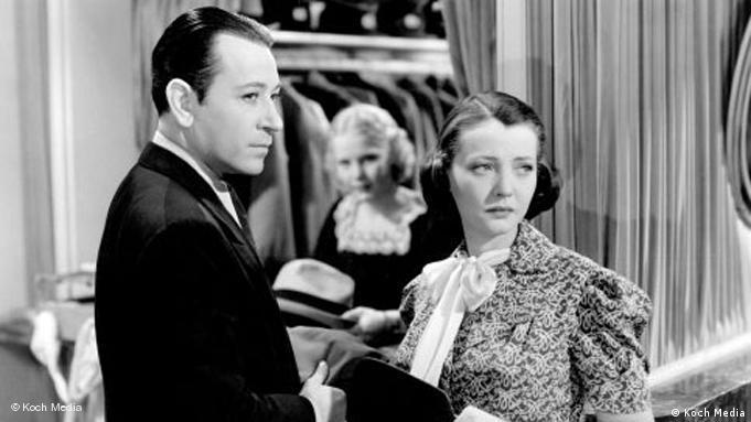George Raft und Sylvia Sidney in Filmszene aus You and Me (Foto: Koch Media)