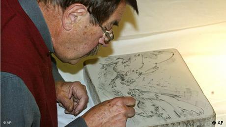 Günter Grass Schriftsteller Nobelpreisträger Flash-Galerie