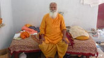 Rasani Baba, a 90 year-old Hindu ascetic who hails from the northern state of Uttar Pradesh